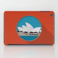 sydney iPad Cases featuring Sydney by Matthias Hennig