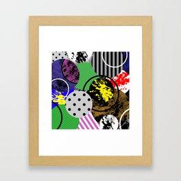Bits And Pieces V Framed Art Print