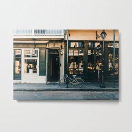 The French Quarter Metal Print