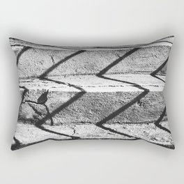 Shadows on the stairs Rectangular Pillow