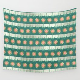 Sun Flowers Wall Tapestry