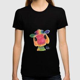 Nosey Cow ' BRIDGET ' by Shirley MacArthr T-shirt