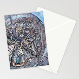City of the planet Stationery Cards