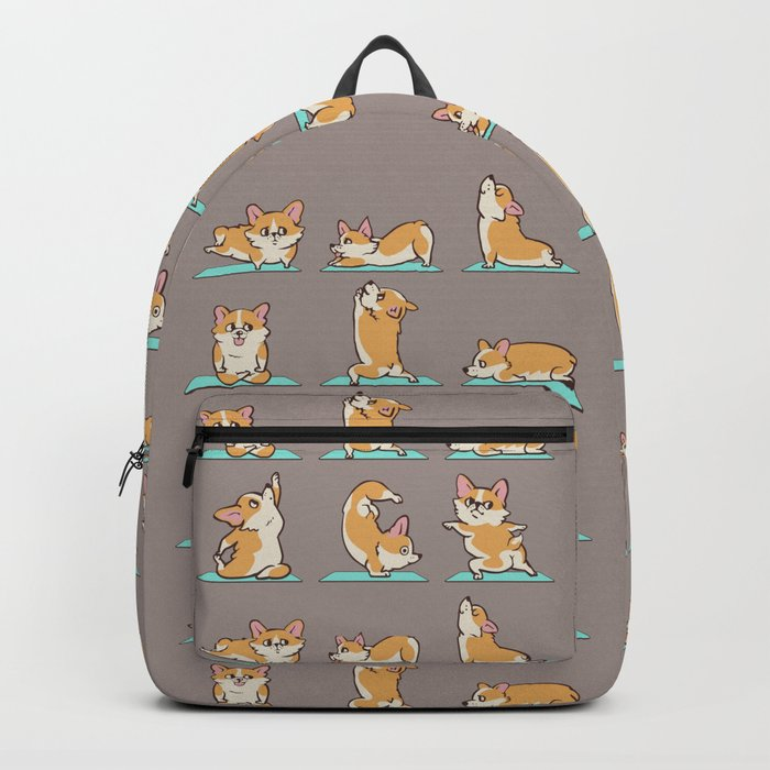 Corgi Yoga Backpack