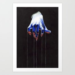 Who Holds the Power Art Print