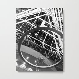Foucault Pendulum Metal Print