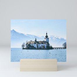 Elegantly Noble Fairytale Castle Schloss Ort Gmunden Austria Europe Ultra HD Mini Art Print