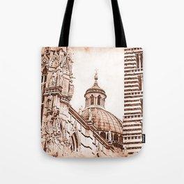 Cathedral of Santa Maria Assunta, Siena Tote Bag