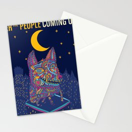 FOSTER THE PEOPLE COMING OF AGE TOUR DATES 2019 EHSAN Stationery Cards