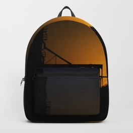 Sunset on the prairies  Backpack