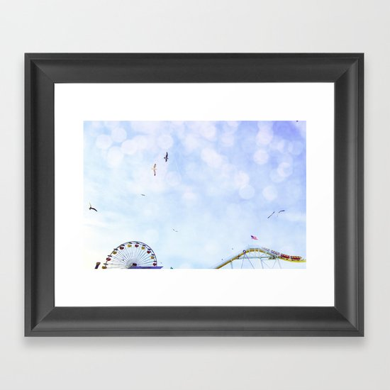 Carnival In The Sky  Framed Art Print