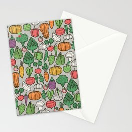 Farm veggies Stationery Cards