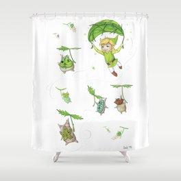Link & the Koroks Shower Curtain