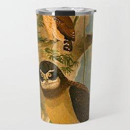 Album de aves amazonicas - Emil August Göldi - 1900 Amazon Animals Exotic Owls Travel Mug