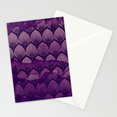 Variations on a Feather II - Purple Haze  Stationery Cards