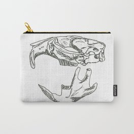Common Muskrat Skull Carry-All Pouch