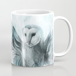 """VOLCANO+THE SEA, Owl I"" Coffee Mug"