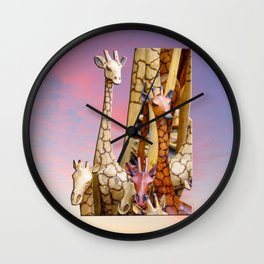 Longnecks Wall Clock