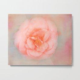 Ethereal Rose Metal Print