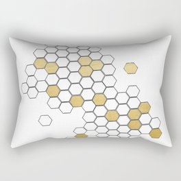 Honey Comb Rectangular Pillow