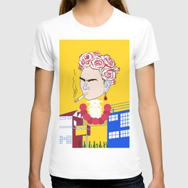Abstract Frida Kahlo T-shirt