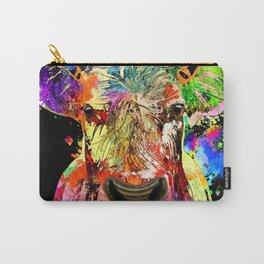Cow Grunge Carry-All Pouch