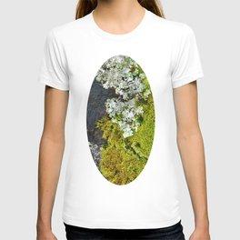 Tree Bark with Lichen#8 T-shirt