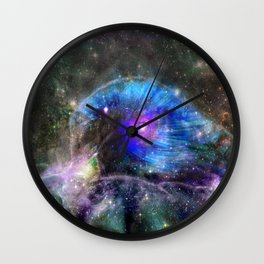 The Duck Head Galaxy Wall Clock