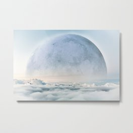 Ethereal Moon Metal Print