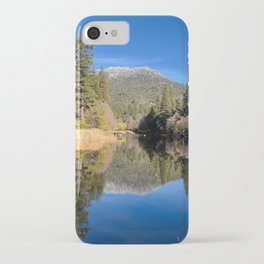 Clear Water in Idyllwild iPhone Case