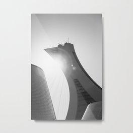Minimalist Olympic Stadium Metal Print