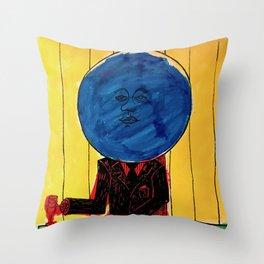 Bleuberry - Pop Art Surrealism Art Throw Pillow