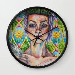 Asparagus Queen (Model: Emery Allen) Wall Clock