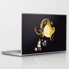 ye hath to catcheth them all(black) Laptop & iPad Skin