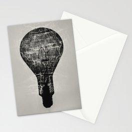 Shadowy Lightbulb Stationery Cards
