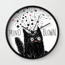 MIND BLOWN. Wall Clock
