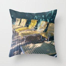 Lounge #1 Throw Pillow
