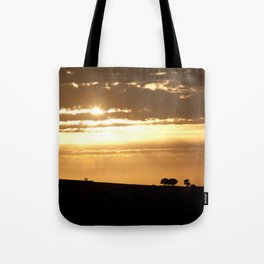 Somewhere, Sometime Tote Bag