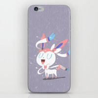 sylveon iPhone & iPod Skins featuring Sylveon by Rod Perich