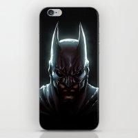 bat man iPhone & iPod Skins featuring BAT MAN - bat man by Raisya
