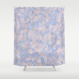 Rose Quartz and Serenity Blue 4644 Shower Curtain