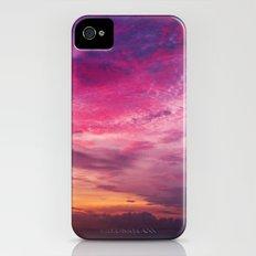 Red Sky Sunrise iPhone (4, 4s) Slim Case