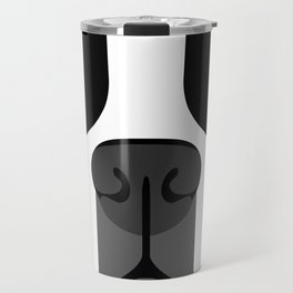 Boston Terrier Close Up Travel Mug