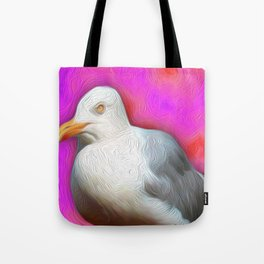 Pop Seagull Vineyard 2 Tote Bag
