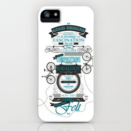 What they felt? iPhone Case