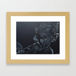 Chet Bake r Framed Art Print