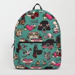 Tattoo Dogs Backpack