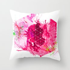 Splash1 Throw Pillow