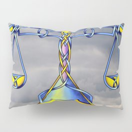 Scales Knot Pillow Sham