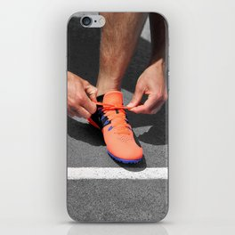 Get up and Run iPhone Skin